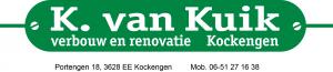 K van Kuik logo